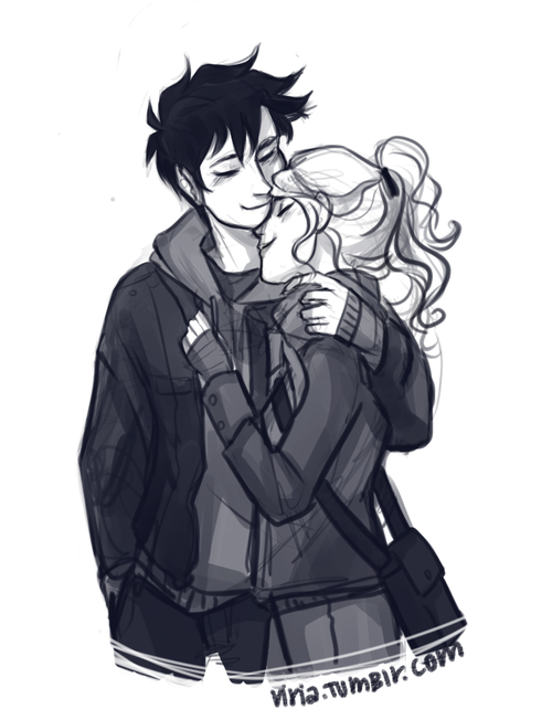 for some reason I thought drawing happy percabeth would help? nah, this file is still called sadass.png and I didnt even try viria