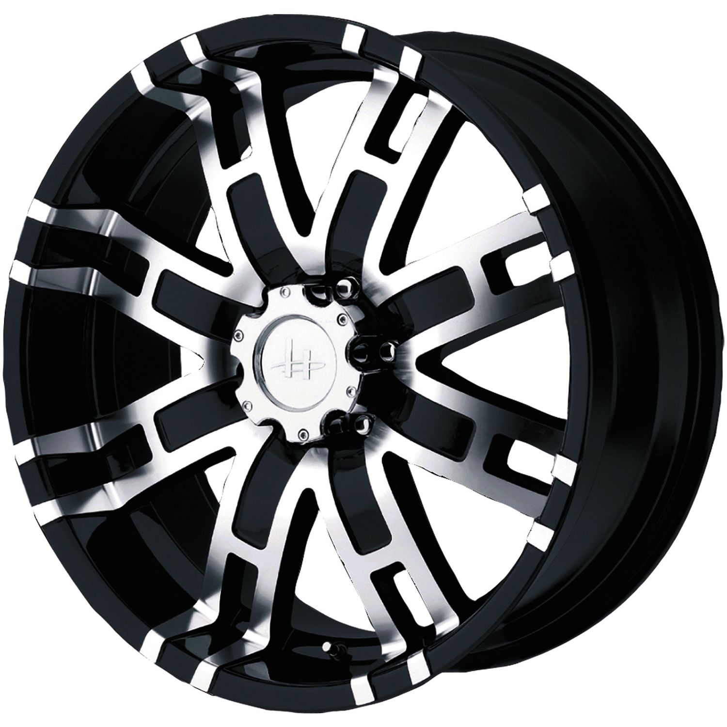 Helo machined black wheels for sale helo rims and tires