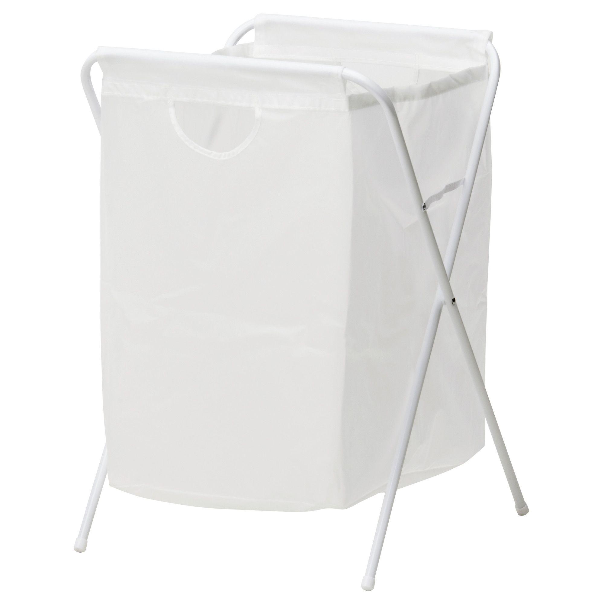 sac linge et support j ll blanc ikea sac linge. Black Bedroom Furniture Sets. Home Design Ideas