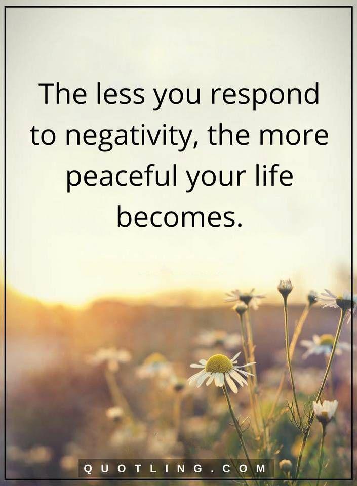 66 Negativity Quotes - Inspirational Words of Wisdom