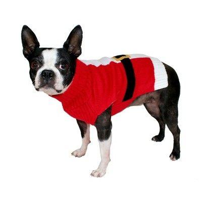 Dog Knit Santa Sweater Xs Wondershop Target 10 Gift