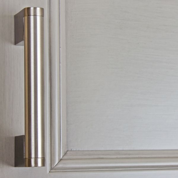 Gliderite 3 75 Inch Stainless Steel Round Cross Bar Cabinet Pull Pack Of 10 Or 25