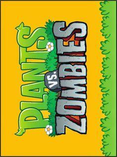 Plantas Vs Zombies Imágenes Tarjetas O Invitaciones Para