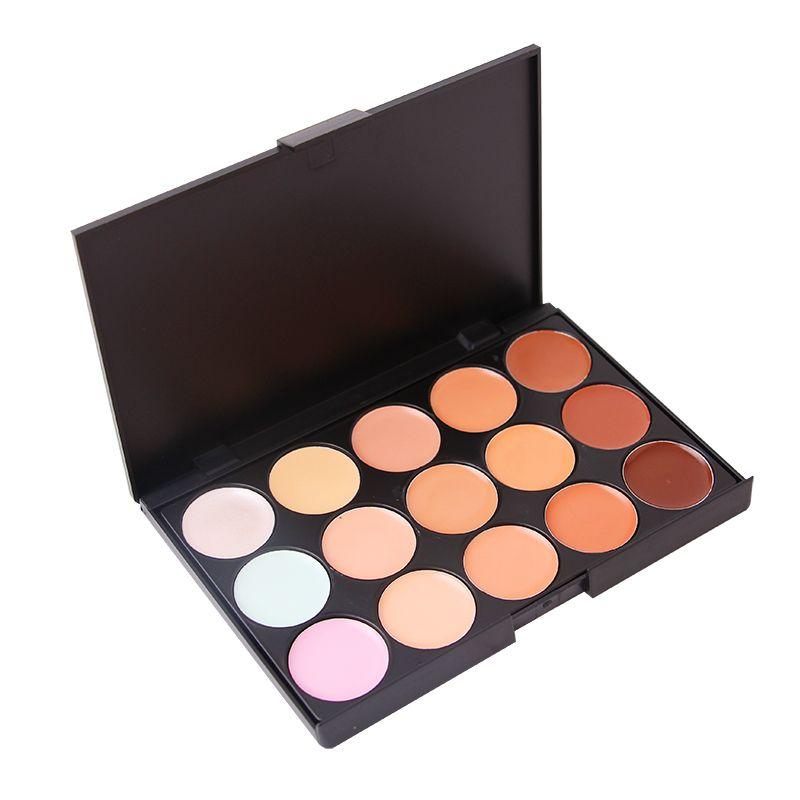15 Colors Concealer Palette Contouring Facial Cream Halloween Party Makeup Set