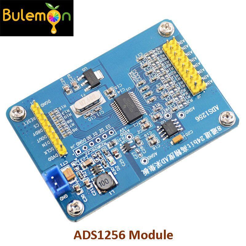 2pcs Lot Ads1256 Module 24 Bit Adc Ad Module Diy High Precision Adc Data Acquisition For Communicat In 2020 Diy Electronics Diy Communications