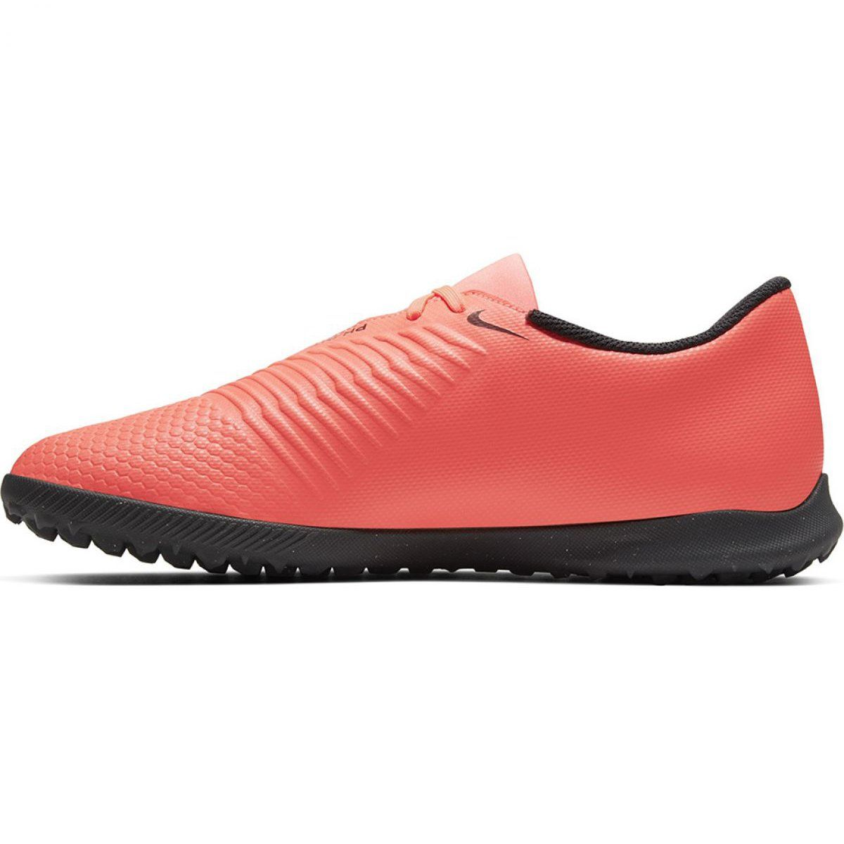 Buty Pilkarskie Nike Hypervenom Phantomx 3 Club Tf Jr Aj3790 600 Wielokolorowe Czerwone Football Boots Football Shoes Kid Shoes