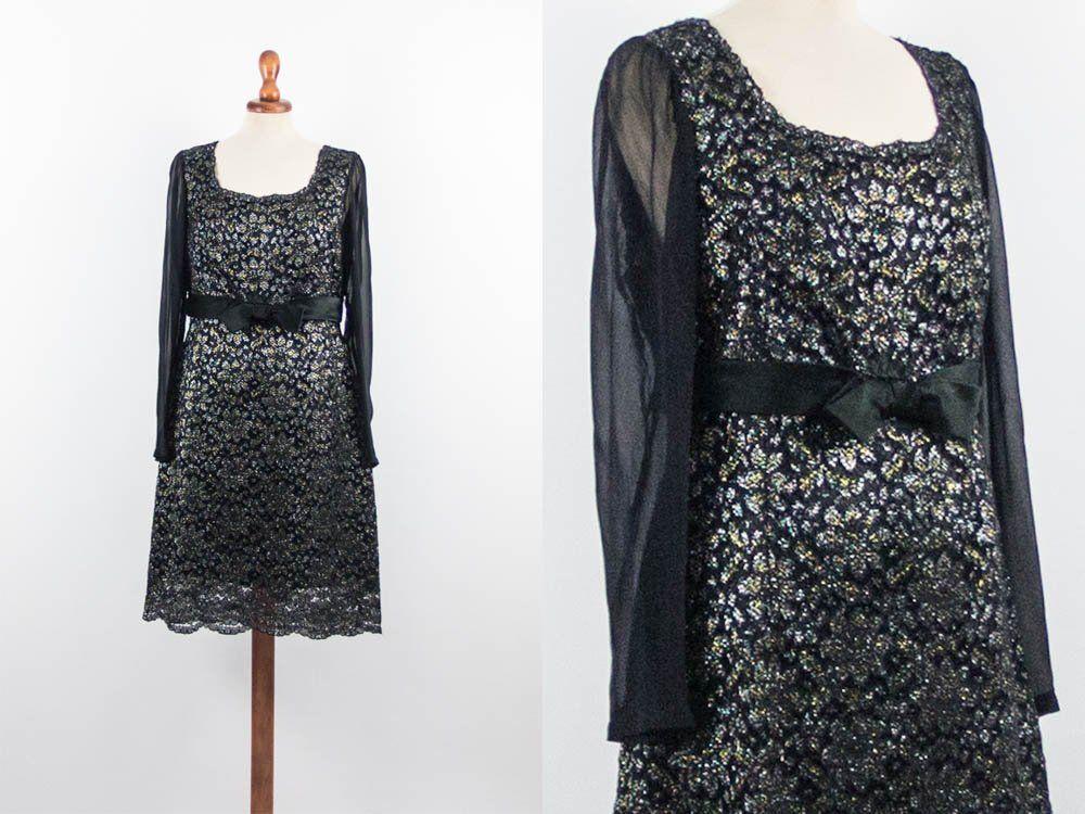 60s Lace Vintage Dress 3ca577064