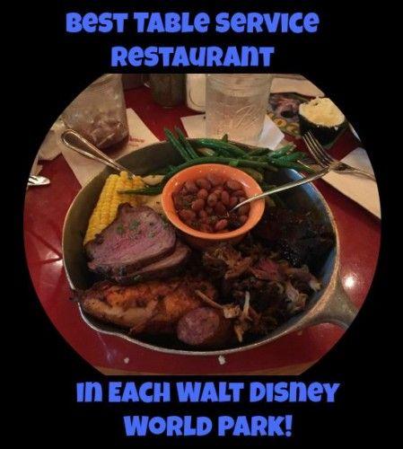 Best Table Service Restaurant In Each Walt Disney World Park - Walt disney world table service restaurants