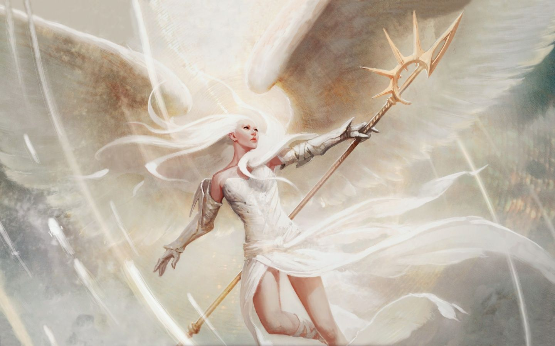 Warrior Angel Art   File:Angels wings magic the gathering fantasy ...