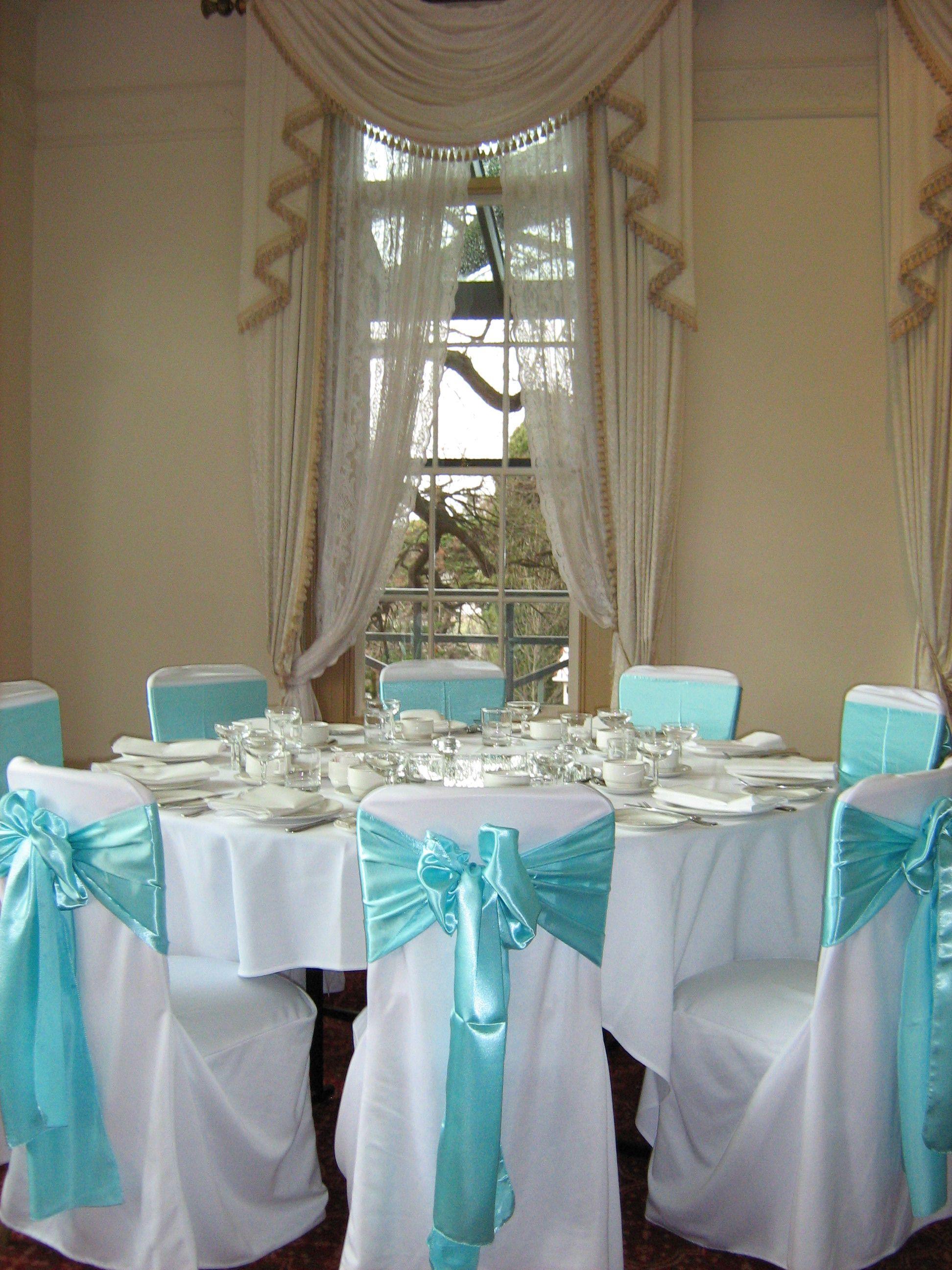 Tiffany Blue Reception Setup · Dining RoomTiffany ...
