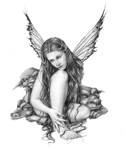 Feen Elfen Tattoos Tattoo Blogger Tattoo | Fairys | Pinterest ...