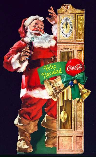 Santa and Coke...just seem to go together :)