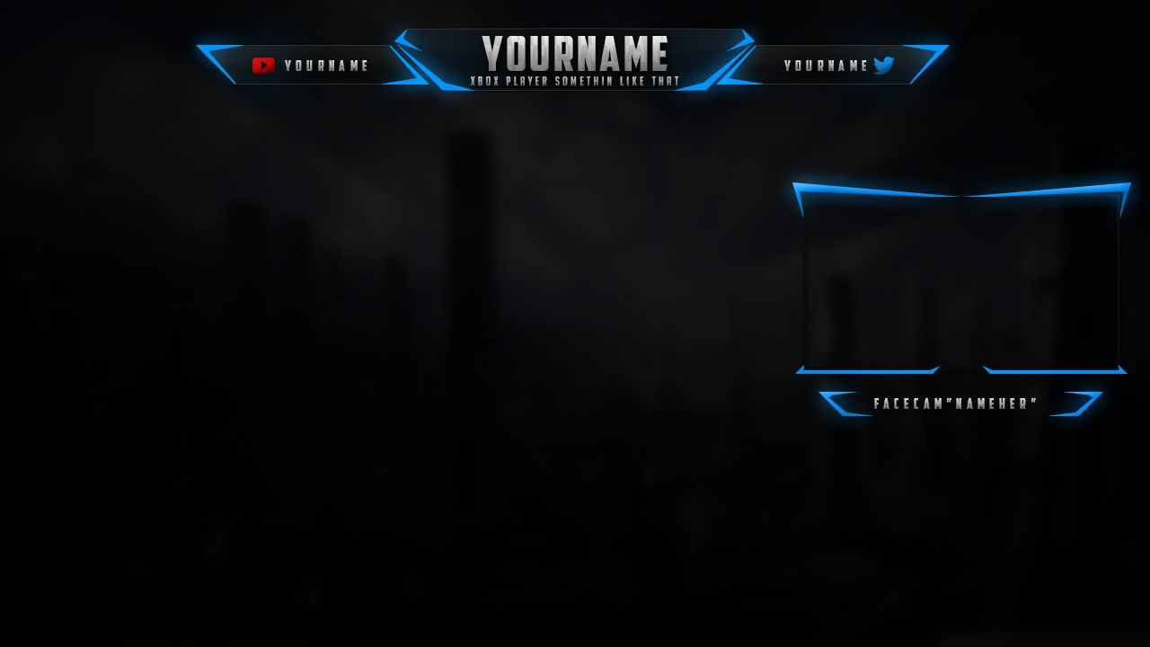 Twitch Overlay Template Free Nord Pinterest Templates