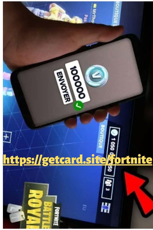 Comment Avoir Des V Bucks Gratuitement : comment, avoir, bucks, gratuitement, Vbucks, Card,, Fortnite,