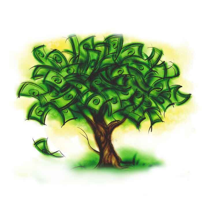 I have money in abundance. I share my money generously and with gratitude.