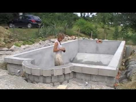 Pool selber bauen ▷ Swimmingpool im Garten - bauende Traum - schwimmbad selber bauen