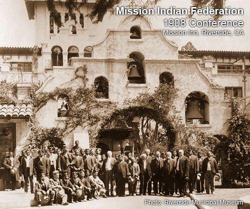 Indian Federation 1908 Riverside California California History San Bernardino Mountains