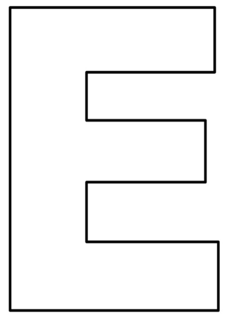 MOLDES DE LETRAS GRANDES: IMPRIMA AQUI!   Moldes   Alphabet letter ...