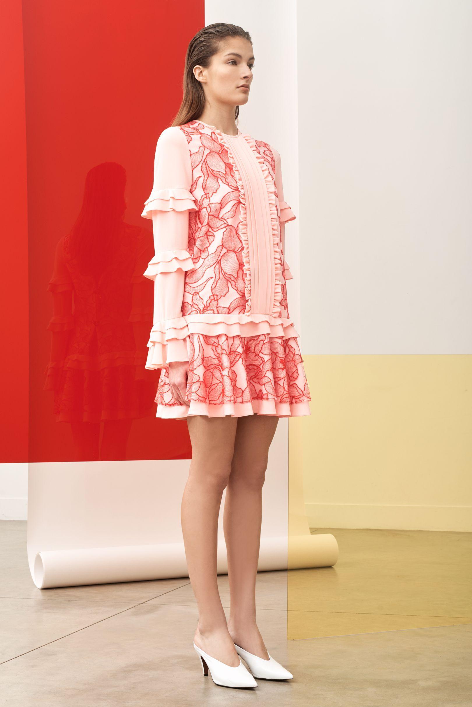Pink dress design 2018  Three Floor AutumnWinter  Pre Fall  Three floor Autumn and Winter