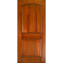 Ma230 Mahogany 2 Panel Arched Door 1 3 4 Solid Wood Interior Door Wood Doors Interior Arched Doors