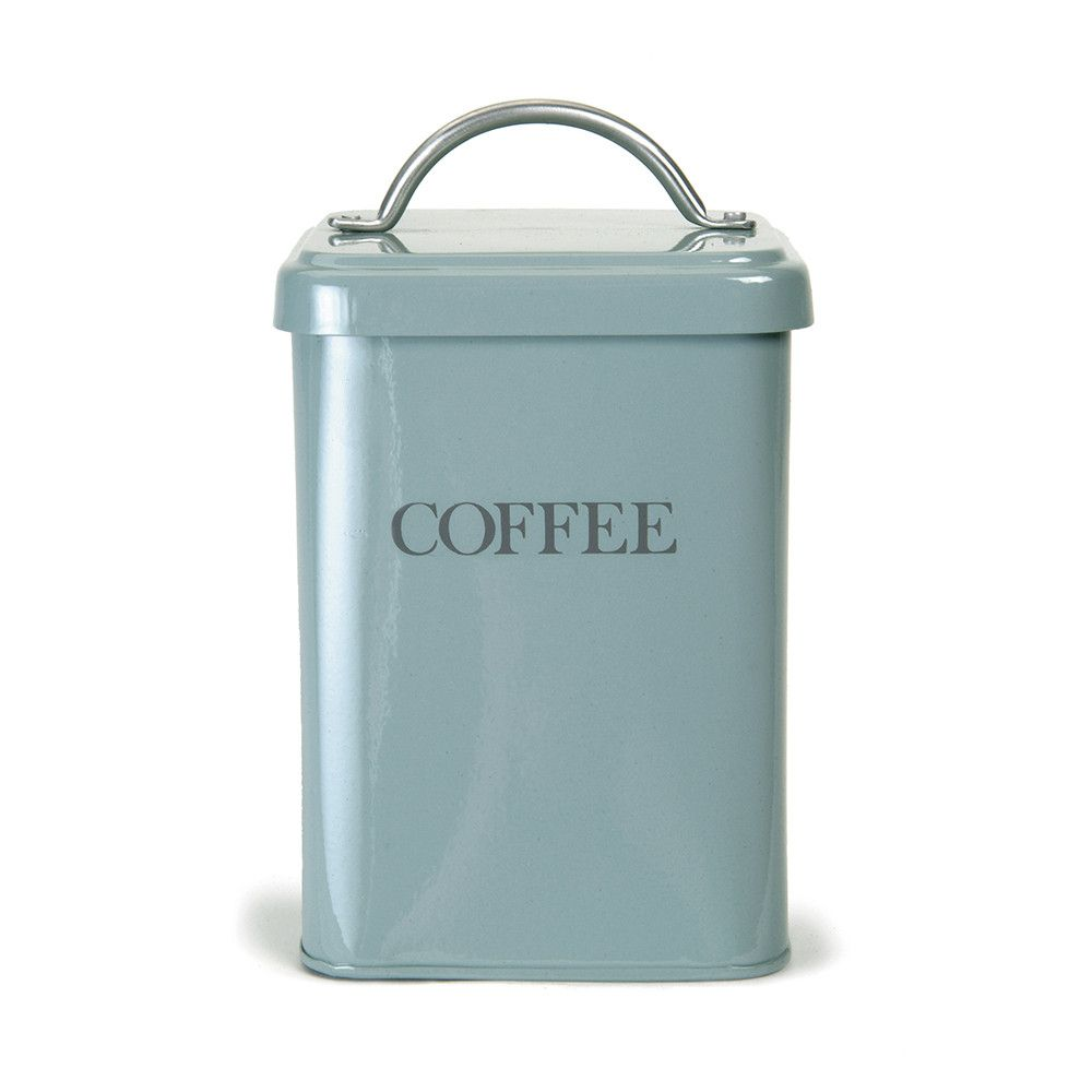 Discover the Garden Trading Coffee Canister - Shutter Blue at Amara ...