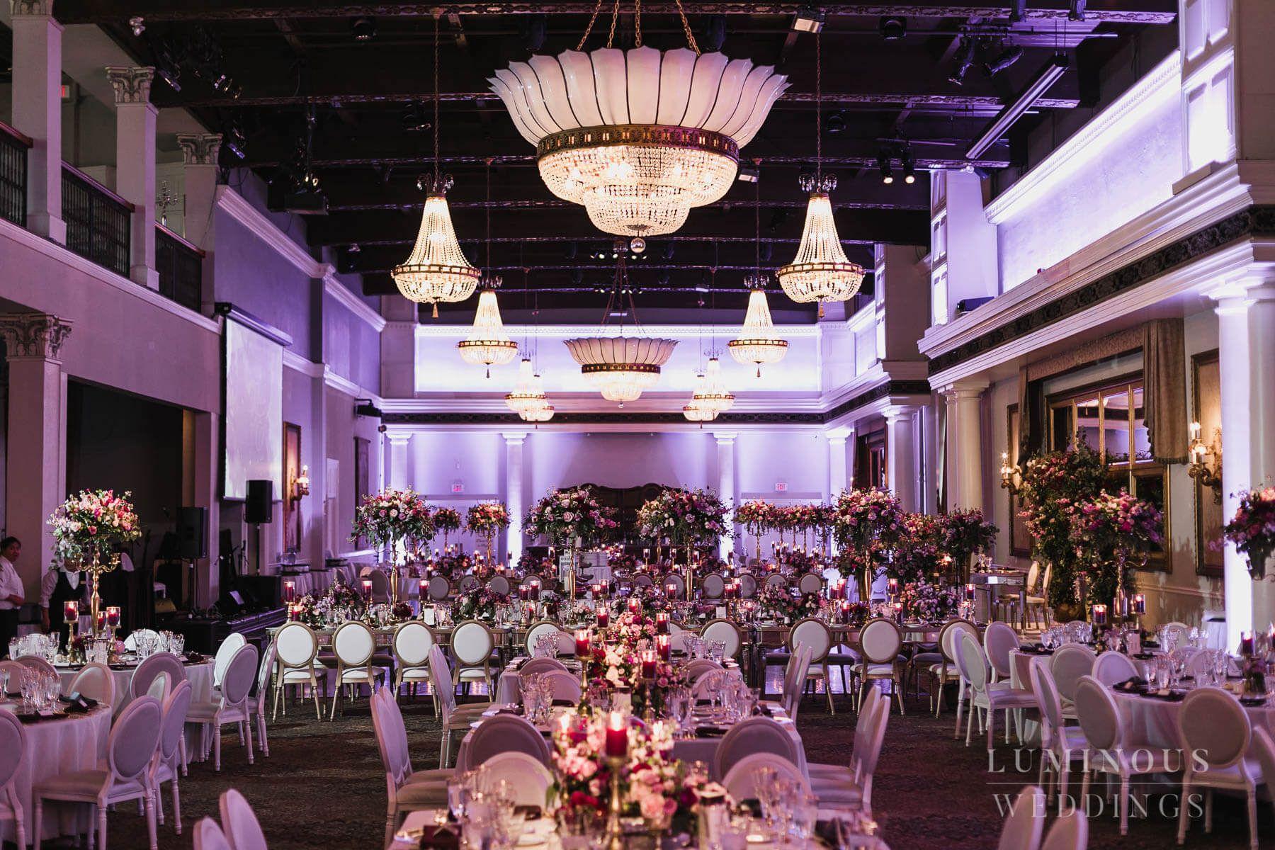 Stephanie And Elliot Liberty Grand Wedding Venue And Decor