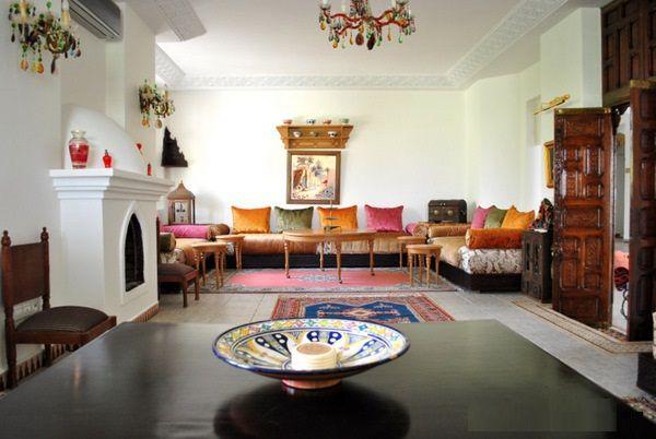 salon marocain moderne 2015 | salon marocain | Pinterest | Salons