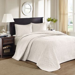 Madison Park Mansfield 3-piece Oversized Bedspread Set | Overstock™ Shopping - Great Deals on Madison Park Bedspreads