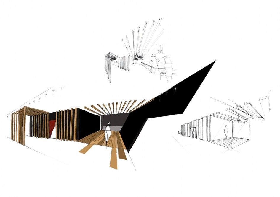Interior design therapy development sketches interior - Interior design without a degree ...