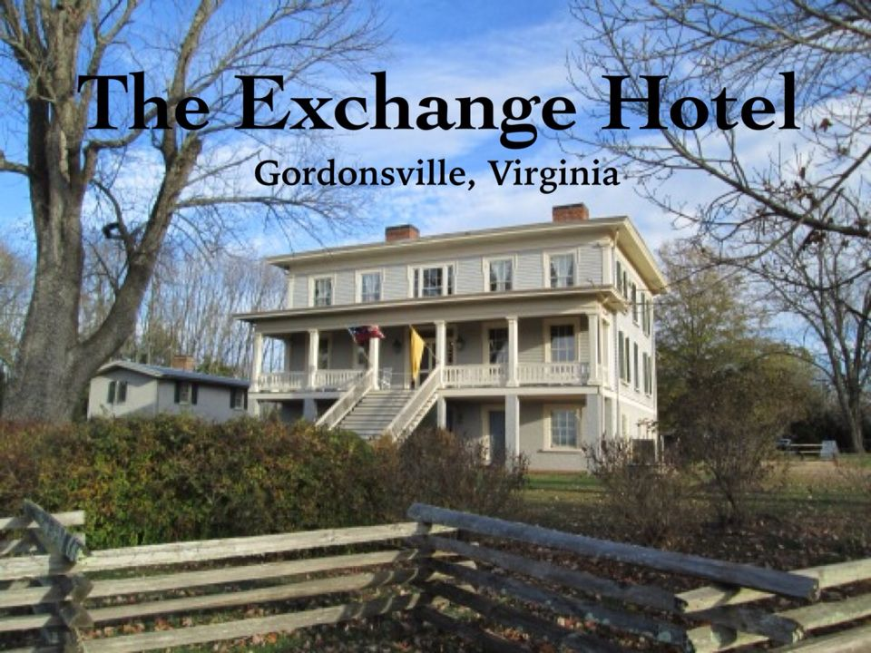 The Exchange Hotel Civil War Museum In Gordonsville Va Paranormal