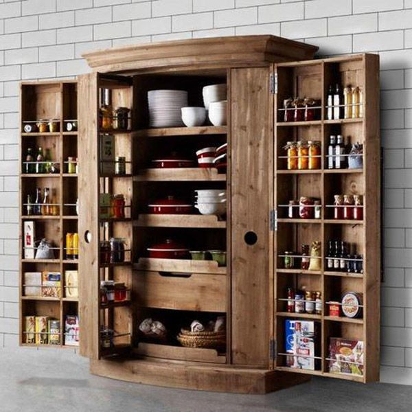 4 Elements Could Bring Out Traditional Kitchen Designs: Timothy Oulton Kitchen Bowdon Larder