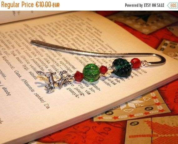 CHRISTMAS SALE Christmas bookmarks  Stocking by DarkFireHandmade #integritytt