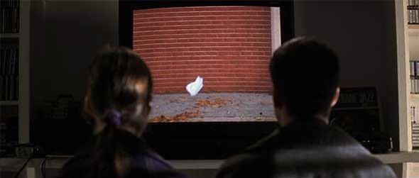 American Beauty The Dancing Plastic Bag Scene