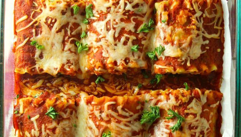 Photo of Mini Lasagna Rolls