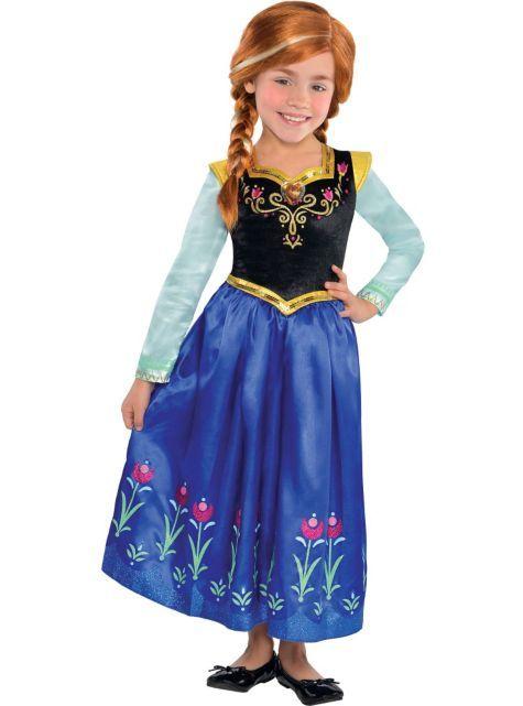 girls anna costume frozen - Halloween Anna Costume