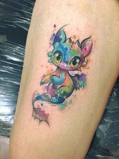 Photo of ▷ 1001+ ideas and examples of the amazingly beautiful dragon tattoo  watercolo…