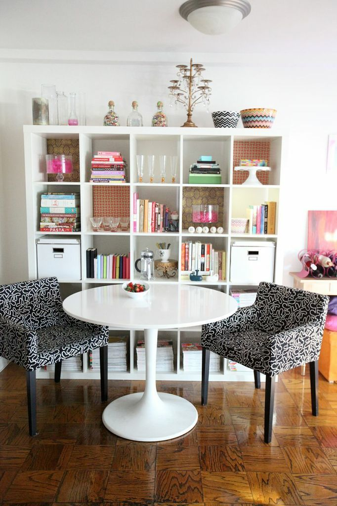 Nikki Rappaportu0027s D.C. Studio Appt. // Expedit Styling   Using Dining Area  Also For