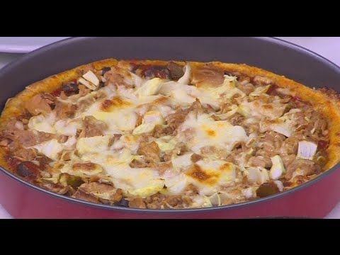 بيتزا بالردة نجلاء الشرشابي Food Hawaiian Pizza Pizza