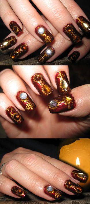 Pin On Make Up Nails
