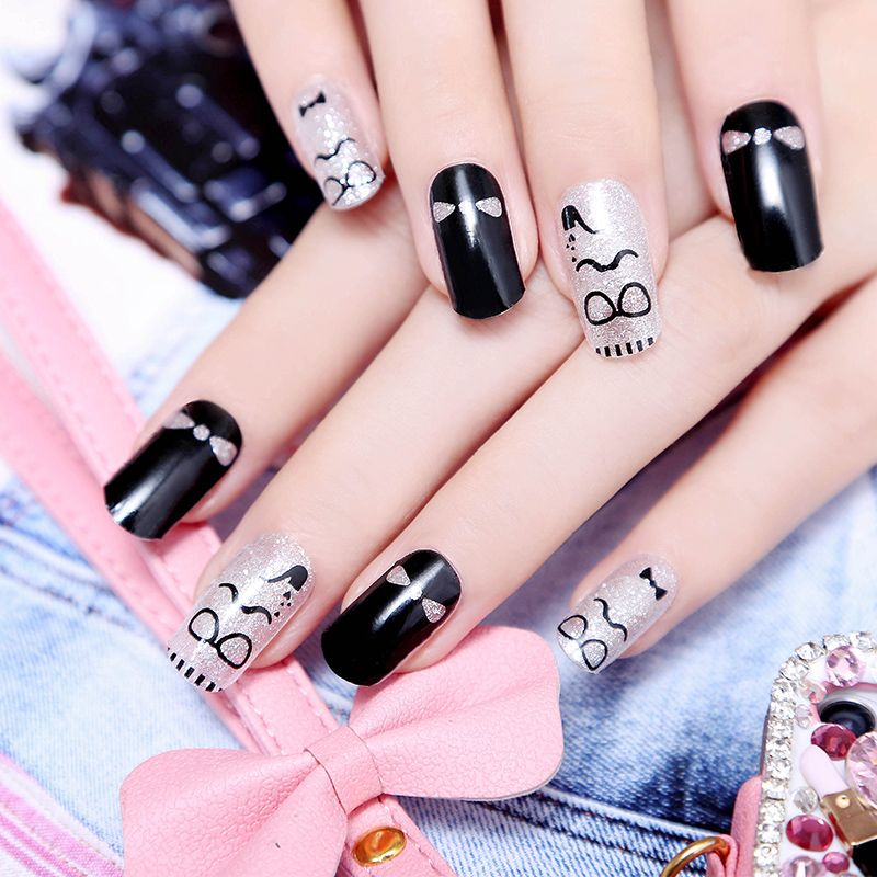 Fashion Beauty nail art nails sticker unhas stickers manicure ...