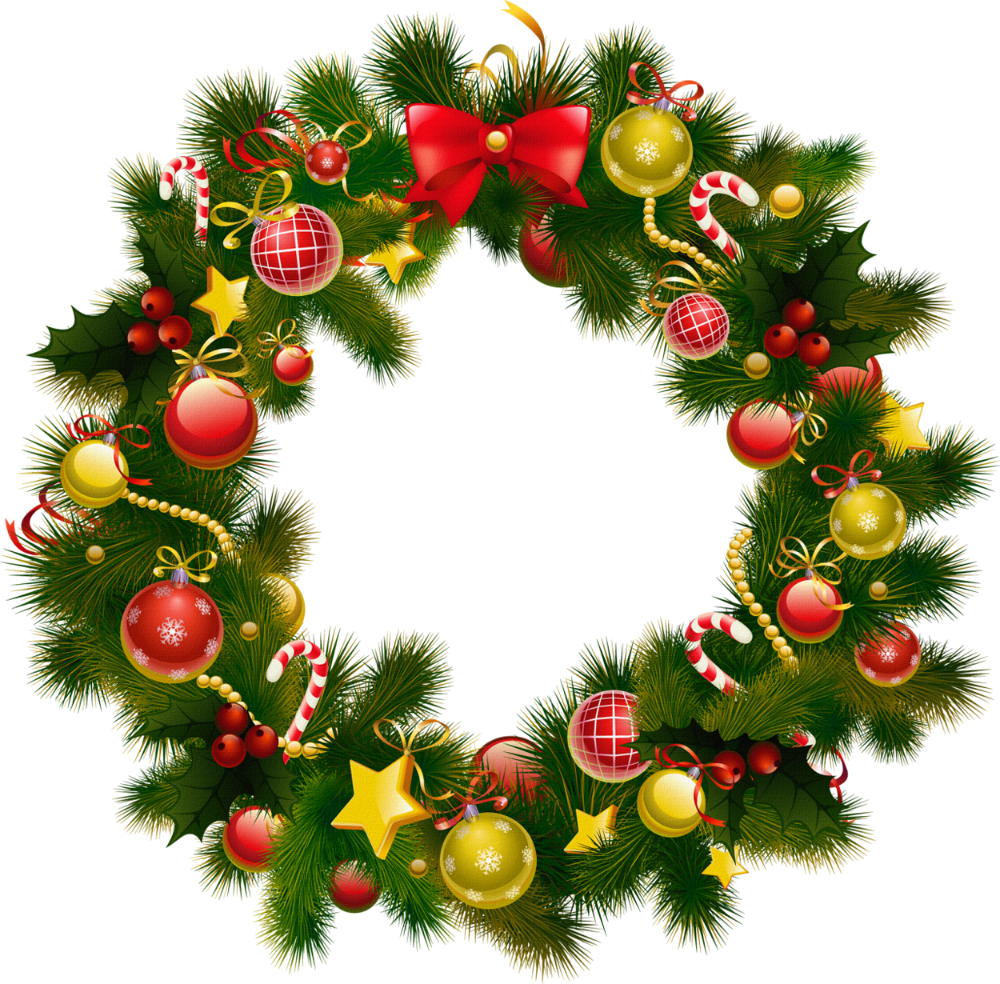 33++ Christmas wreath clipart transparent background ideas in 2021