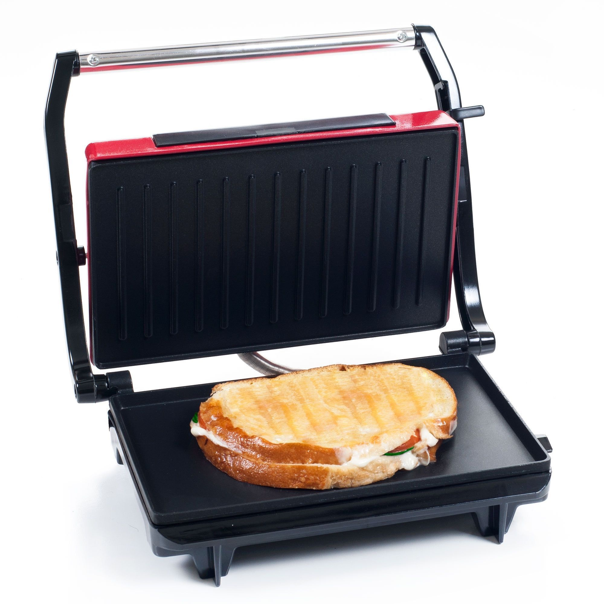 Grille Panini Panini Press Indoor Grill And Gourmet Sandwich Maker With Nonstick