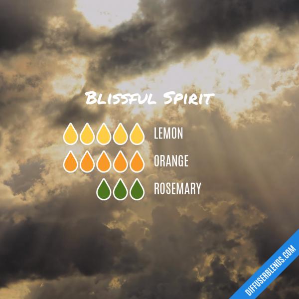 Blissful Spirit - Essential Oil Diffuser Blend