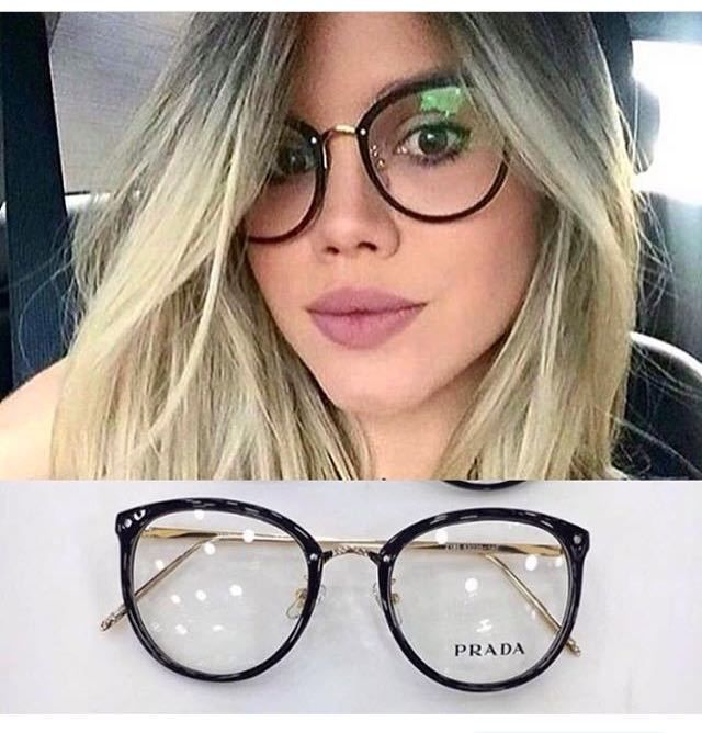 c2fc92b1efe83 Óculos preto sem grau