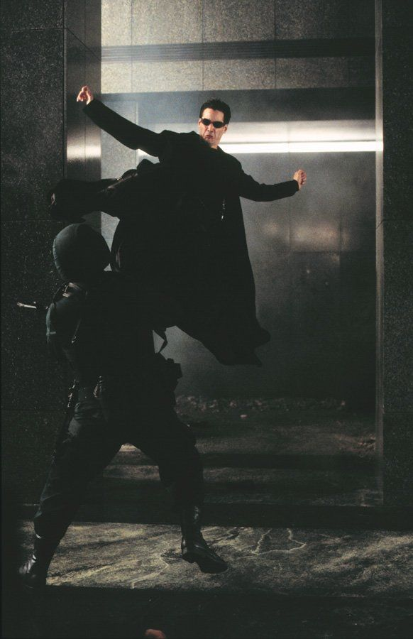 The Matrix - love him or hate him, Keanu did a good job in this movie.  And Morpheus!