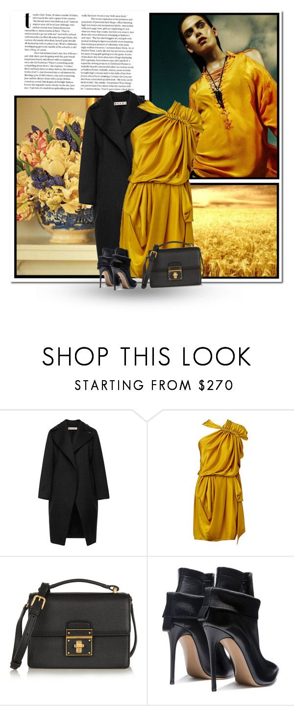 """""""...."""" by bliznec-anna ❤ liked on Polyvore featuring Marni, Dolce&Gabbana and Casadei"""