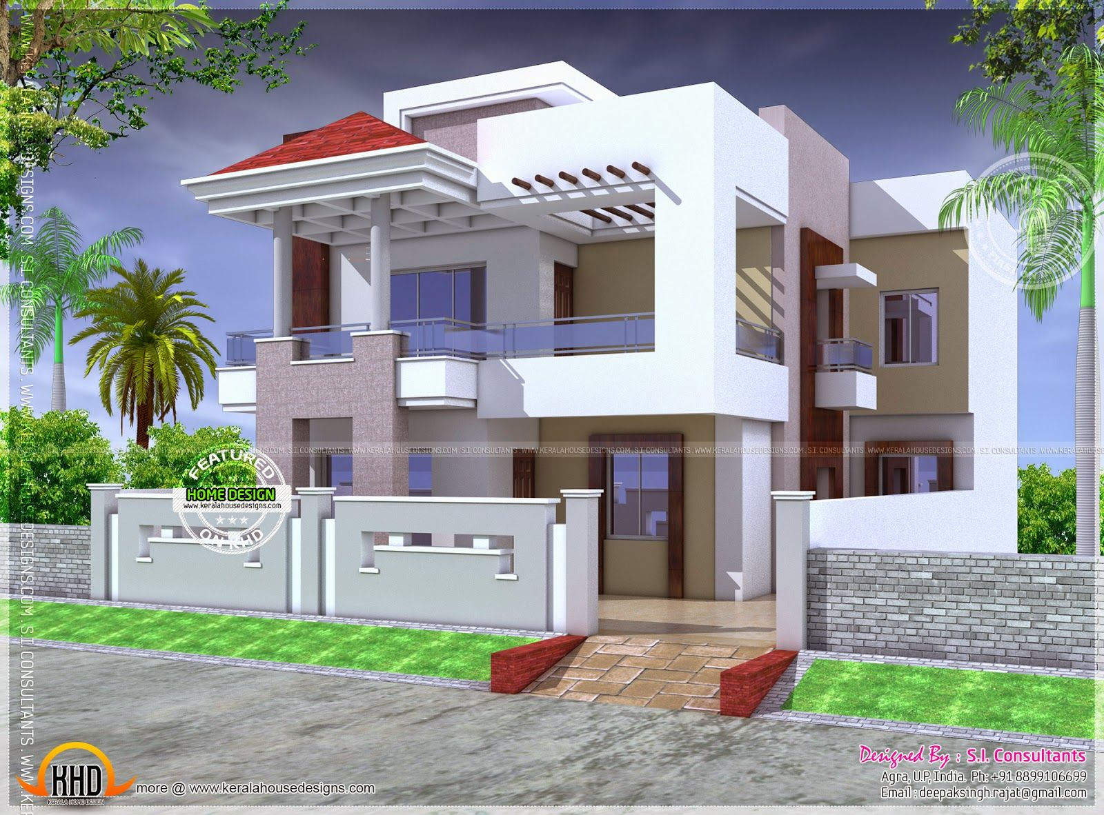 Modern Indian House And Bungalow Pics – Modern House