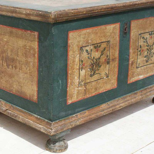 Antique French Blanket Box - Antiques Atlas