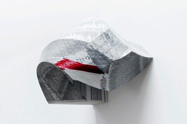 Phone Book Sculptures | Gemis Luciani