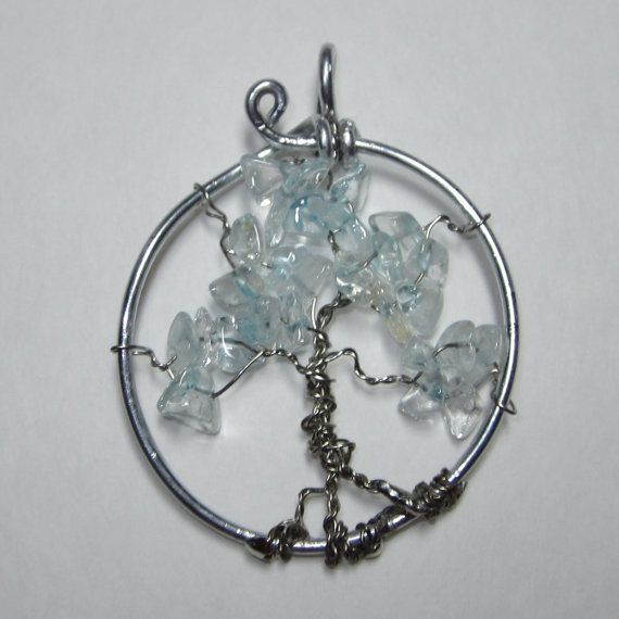 Tree of life necklacewire wrapped jewelry by WireWrapJewels, $19.75